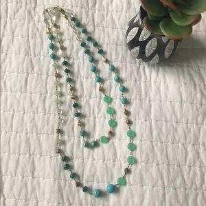 BR Fashion Necklace - Teal